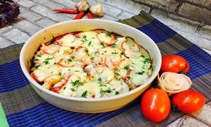 Cách làm cá sốt cà chua phô mai bỏ lò vừa nhanh vừa ngon
