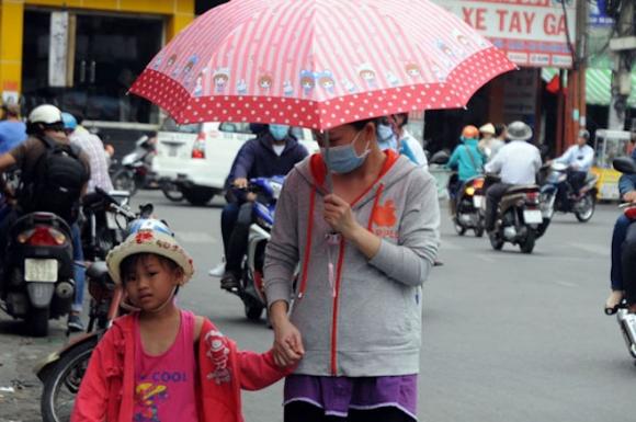 """Nắng """"cháy da cháy thịt"""" ở Sài Gòn kéo dài tới bao giờ? - 1"""