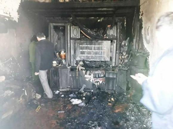 Cận cảnh hiện trường vụ cháy kinh hoàng làm 5 người tử vong ở Đà Lạt - 4