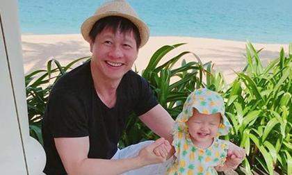 Chồng Phan Như Thảo lên tiếng trấn an mọi người sau vụ việc con gái suýt bị giật trên tay