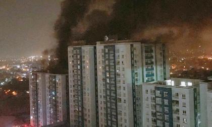 Ảnh: Hiện trường vụ cháy chung cư khiến 13 người chết ở TP.HCM