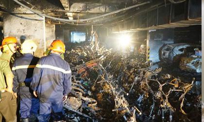 Không có chuyện tạm đình chỉ cán bộ PCCC do cháy chung cư Carina