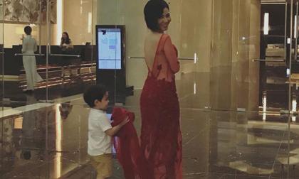 Lần đầu lộ diện con trai 3 tuổi của ca sĩ Thu Minh với chồng Tây