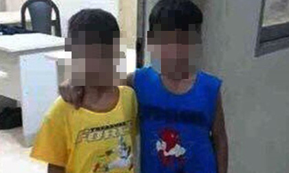 Đăng thông tin 2 bé trai bị chăn dắt đi ăn xin lên mạng xã hội chỉ để gây chú ý, mong sớm tìm được người thân