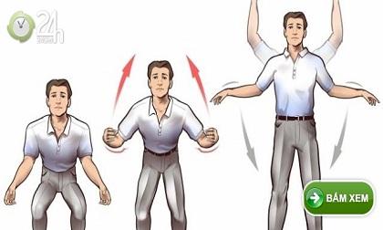 Quét sạch bệnh tật trong người với 10 bài tập thần kỳ