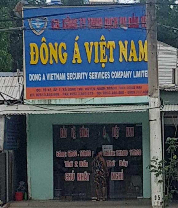 Nổ súng ở Nhơn Trạch: Tạm giữ Giám đốc công ty bảo vệ - 1