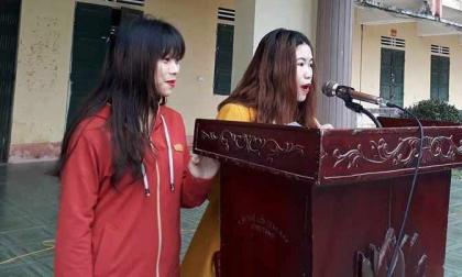 Rủ em chồng đánh ghen nữ sinh lớp 11, hai chị em phải công khai xin lỗi trước 1.800 người