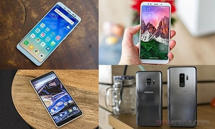 Top 15 điện thoại được ưa chuộng nhất trong quý 1 năm nay