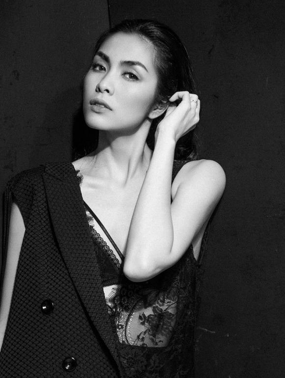 Diện váy ren sexy, Tăng Thanh Hà được khen nhan sắc đỉnh cao - Ảnh 4.