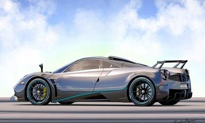 Ngắm vẻ đẹp của chiếc siêu xe Pagani Huayra Coupe cuối cùng