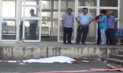 Một phụ nữ nhảy từ tầng 9 bệnh viện xuống đất tử vong