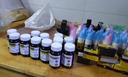 Đột kích cửa hàng bán sản phẩm 'trị ung thư' bằng than tre ở TP HCM