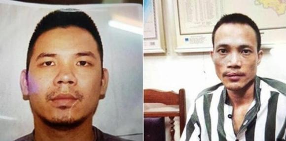 Hai tử tù Lê Văn Thọ (trái) và Nguyễn Văn Tình (phải).