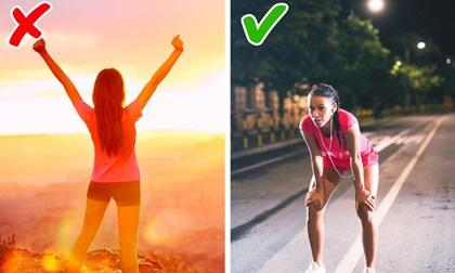 10 sai lầm trong tập luyện có thể gây hại cho sức khỏe nhiều hơn là lợi ích