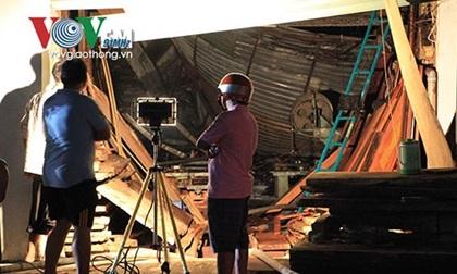 TP.HCM: Cháy xưởng gỗ lúc nửa đêm