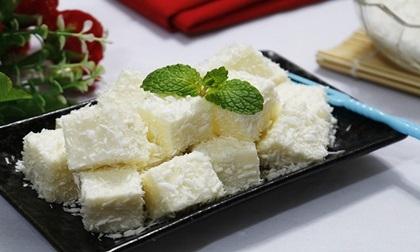 Tan chảy với món bánh tuyết bọc dừa mát lạnh, ngậy thơm
