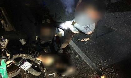 Tông vào đuôi ô tô tải, 4 học sinh tử vong