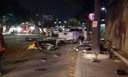 Vụ 'ô tô điên' gây tai nạn ở TP.HCM: Tài xế sử dụng rượu bia