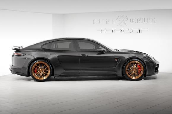 Gói độ carbon giá 900 triệu đồng cho Porsche Panamera Turbo 2017 - 2