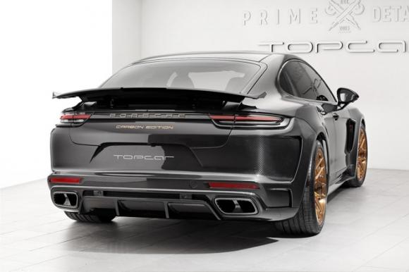Gói độ carbon giá 900 triệu đồng cho Porsche Panamera Turbo 2017 - 3