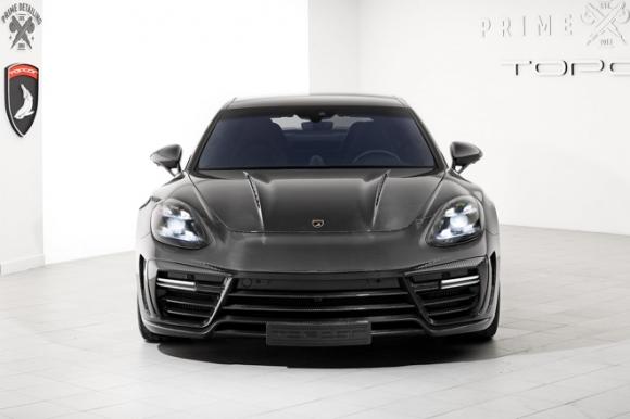 Gói độ carbon giá 900 triệu đồng cho Porsche Panamera Turbo 2017 - 10
