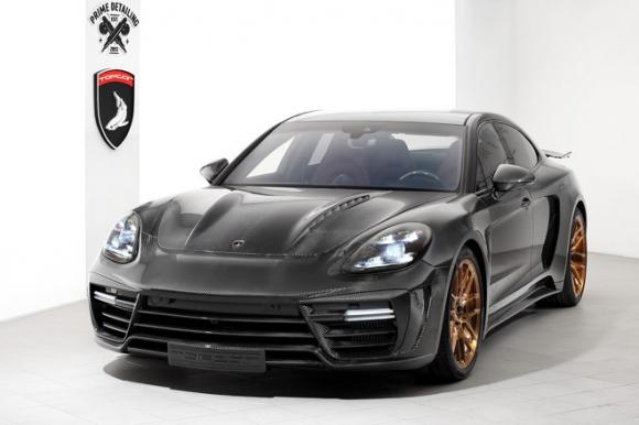 Gói độ carbon giá 900 triệu đồng cho Porsche Panamera Turbo 2017 - 4