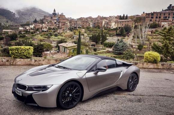Chiêm ngưỡng xe điện mui trần 3,6 tỷ đồng của nhà BMW - 1