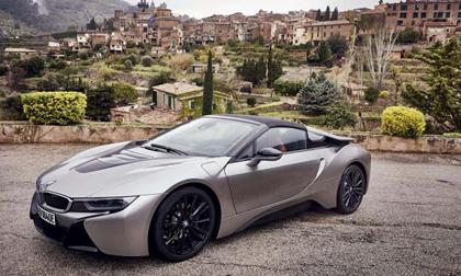 Chiêm ngưỡng xe điện mui trần 3,6 tỷ đồng của nhà BMW