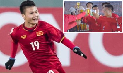 Quang Hải lên tiếng vụ quảng cáo bia mặc áo đội tuyển quốc gia