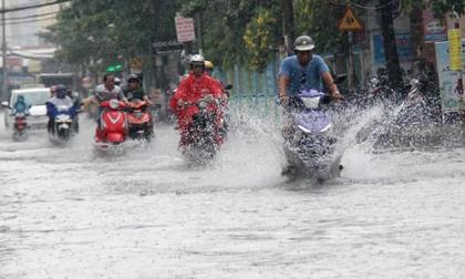 Tin mới thời tiết 4/5: TP.HCM mưa lớn 4 ngày liên tiếp, đề phòng khả năng có tố lốc