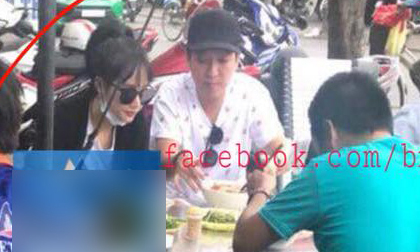 Lộ ảnh Trường Giang - Nhã Phương cùng nhau đi ăn quán vỉa hè, phải chăng mối tình đã 'gương vỡ lại lành'?
