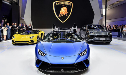 Lamborghini Huracan bản mui trần ra mắt, giá gần 7 tỷ đồng