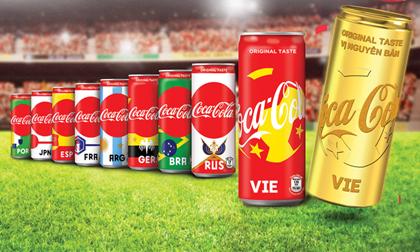 Đón World Cup 2018, Coca-Cola không quêncổ vũgiấc mơ vàng của bóng đá Việt