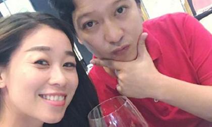 Rò rỉ hình ảnh Trường Giang thân thiết bên người thân của Khánh My tại nhà riêng