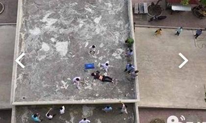 Nam thanh niên rơi từ tầng 11 bệnh viện xuống đất tử vong