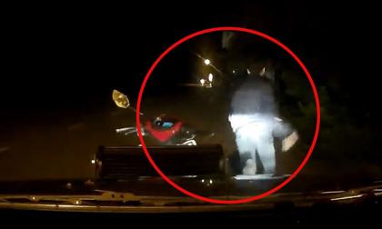 Clip: Nghẹt thở màn truy đuổi trộm chó kịch tính trong đêm