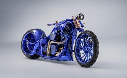 Chiếc Harley Davidson Softail Slim Blue Edition giá 43 tỷ đồng có gì đặc biệt? - 1