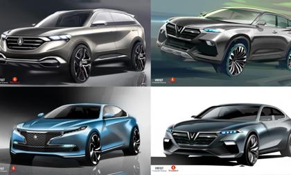 Những chiếc xe thương hiệu VinFast của tỷ phú Phạm Nhật Vượng