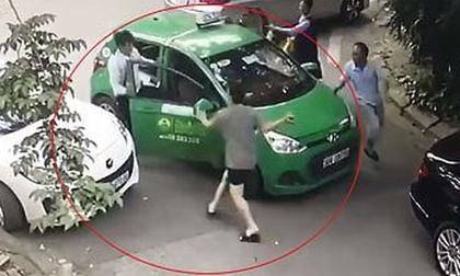 Tài xế taxi bị hành hung gửi đơn đề nghị đến công an