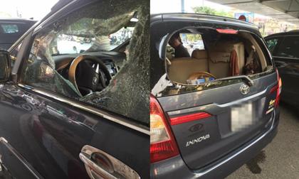Vụ tài xế bất ngờ bị cầm gạch đầu vào đầu, ném vỡ kính ô tô: Đối tượng bị tâm thần nặng