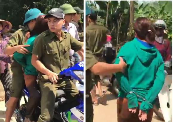 Thực hư chuyện người phụ nữ bị công an giữ vì nghi bắt cóc trẻ em ở Vĩnh Phúc