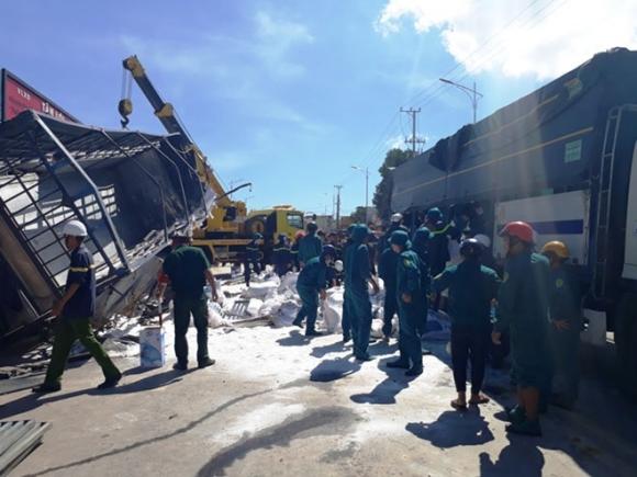 Thông tin gây sửng sốt vụ xe tải gây tai nạn thảm khốc ở Lâm Đồng - 1