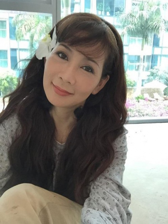 Nhan sắc hiện tại của Diễm Hương.