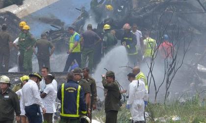 Rơi máy bay ở Cuba: Chỉ 3 người sống sót trong tổng số 110 nạn nhân