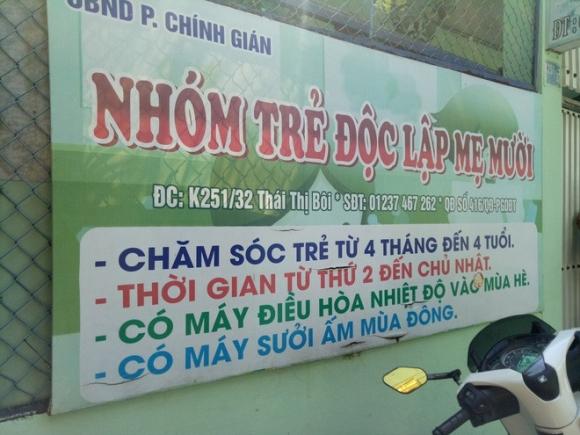 Bảo mẫu vừa bóp đầu vừa tát trẻ mầm non dã man ở Đà Nẵng: Có thể xử phạt mức án 3 năm tù - Ảnh 1.