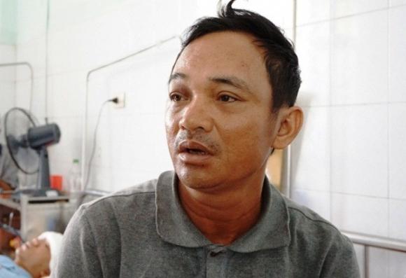 Ông Tấn đang điều trị tại Bệnh viện Đa khoa tỉnh Thanh Hóa