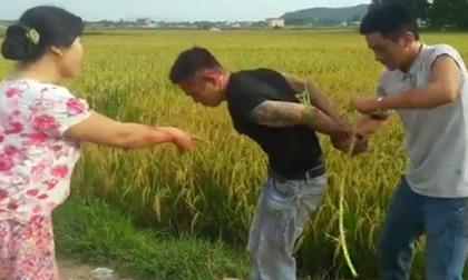 Vụ côn đồ đòi 5 triệu đồng tiền bảo kê máy gặt lúa ở Thanh Hóa: Triệu tập các đối tượng liên quan