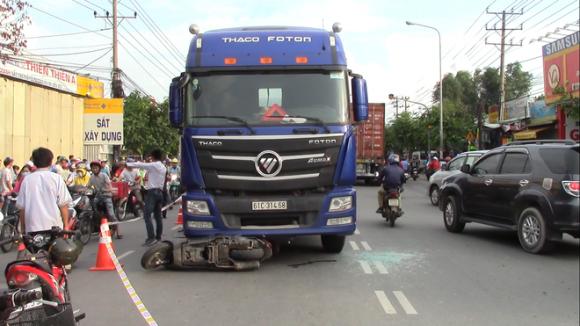 Vụ thai phụ rớt con sau sau va chạm với xe container: Dự định dang dở của hai mẹ con - Ảnh 1.