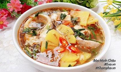 Cách nấu canh chua cá lóc thơm nức mũi, dễ ăn trong ngày hè