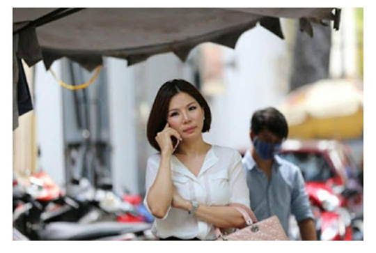 Mới được tự do 3 ngày, vợ cũ ông Chiêm Quốc Thái bị bắt lại - 1